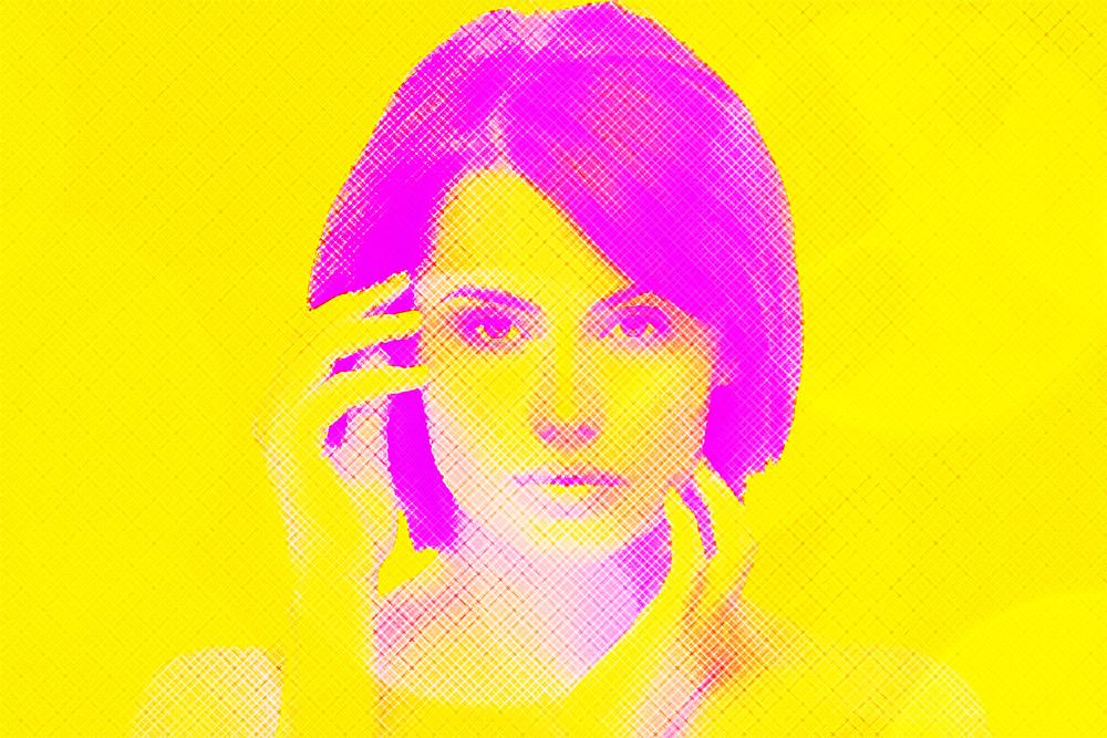 Duotone Portrait