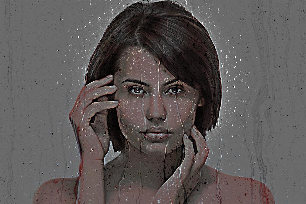 Waxy Portrait